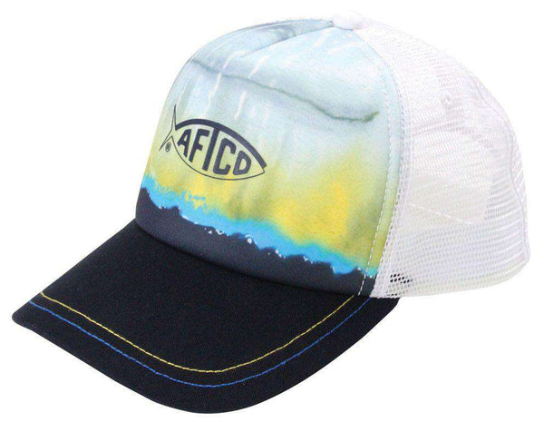 Yellowfin Trucker Hat by AFTCO