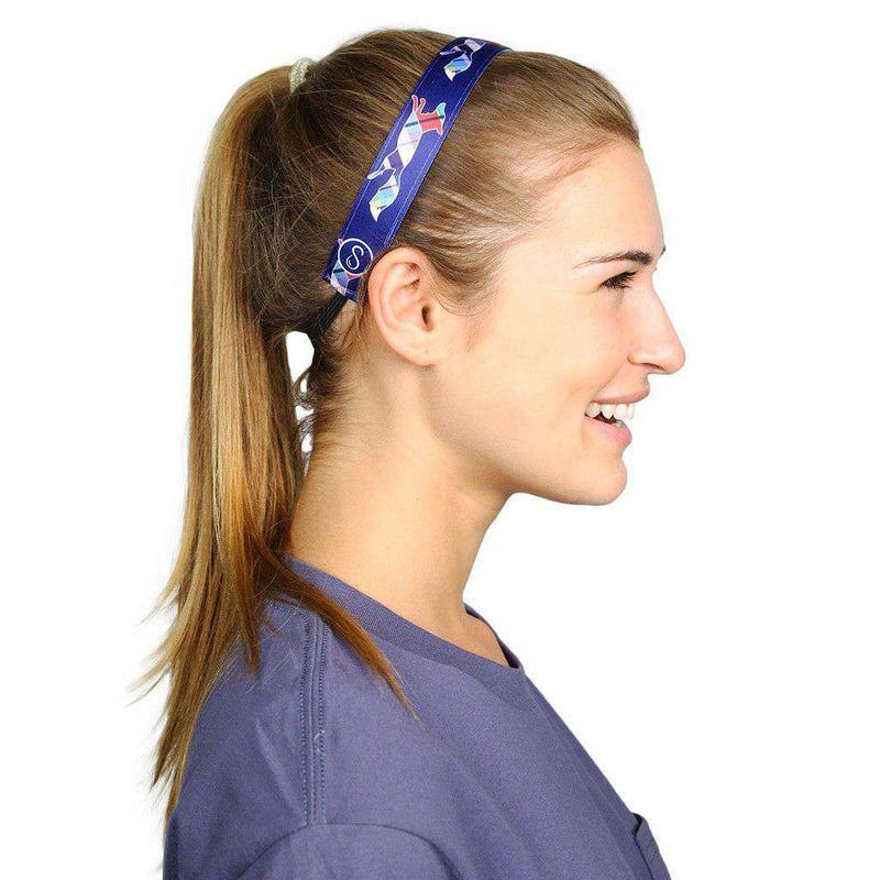 Country Club Prep Exclusive Longshanks Headband by Sweaty Bands - Country Club Prep