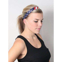 Stars and Stripes Headband by Sweaty Bands - Country Club Prep