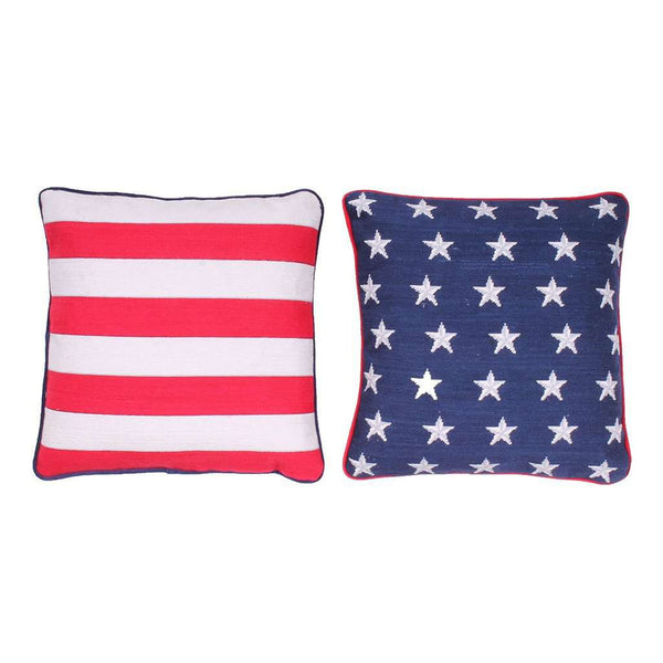 Old Glory Pillow Set by Smathers & Branson
