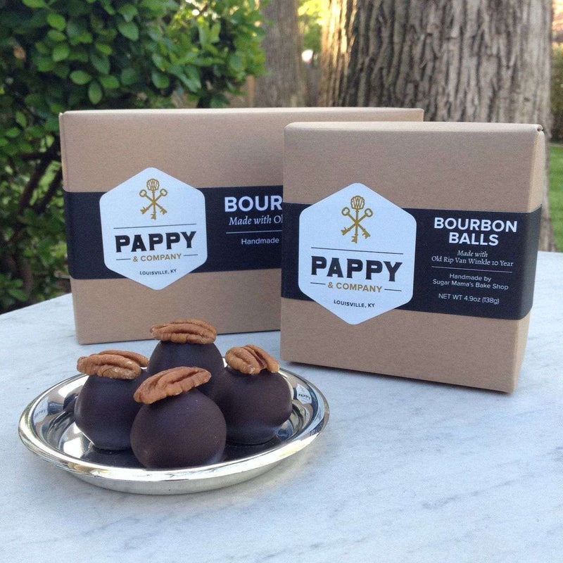 Home - Pappy's Handmade Bourbon Balls (4 Pack) By Pappy Van Winkle