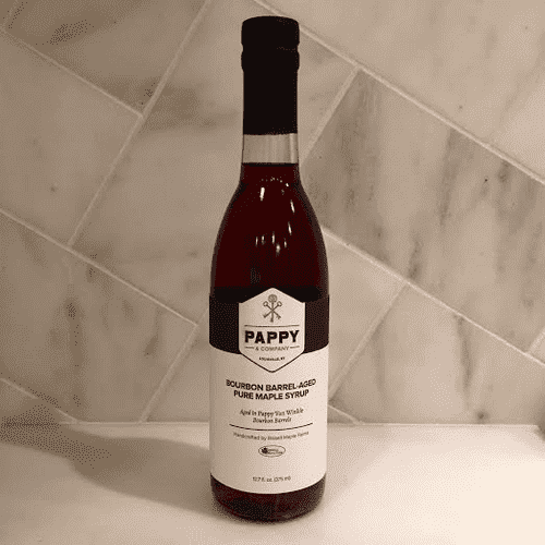 Pure Maple Syrup Aged in Pappy Bourbon Barrel by Pappy