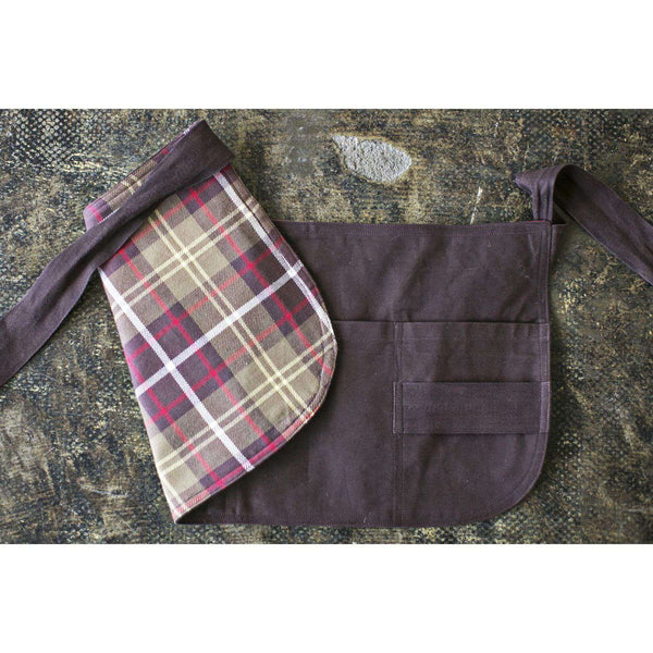 Waxed Canvas Craftsman Apron by Heirloomed Collection