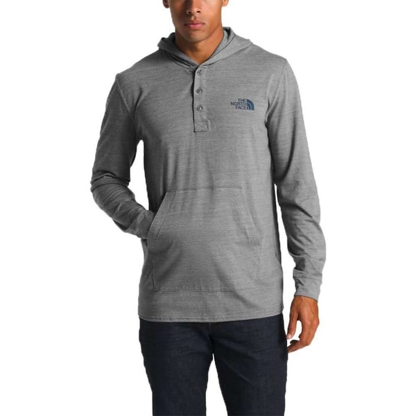 The North Face Men's Tri-Blend Henley Hoodie by The North Face