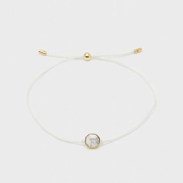 "Gorjana Power Gemstone Cord ""Calming"" Bracelet by Gorjana"