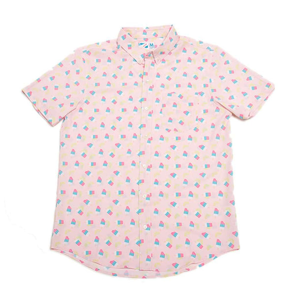 Bermies Ice Cream Performance Button Down by Bermies