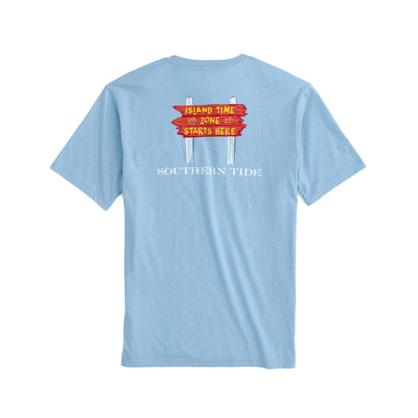 Island Time Zone Tee Shirt by Southern Tide