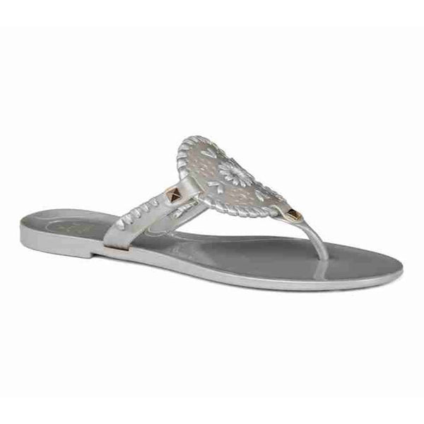 Jack Rogers Georgica Jelly Sandal in Silver by Jack Rogers