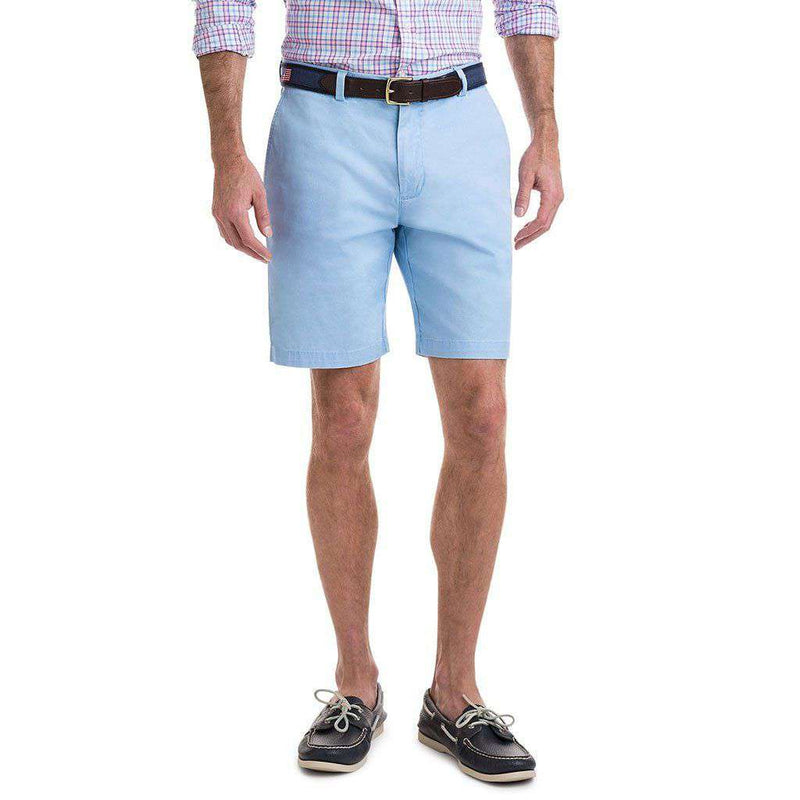 9 Inch Stretch Breaker Shorts in Jake Blue by Vineyard Vines