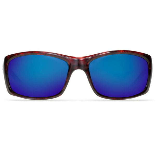 Jose Sunglasses in Tortoise with Blue Mirror Polarized Glass Lenses by Costa del Mar