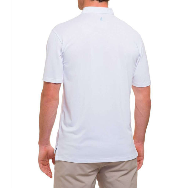 Mashie Prep-Formance Polo in White by Johnnie-O
