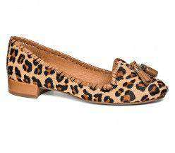 Gabrielle Haircalf Flat Leopard by Jack Rogers