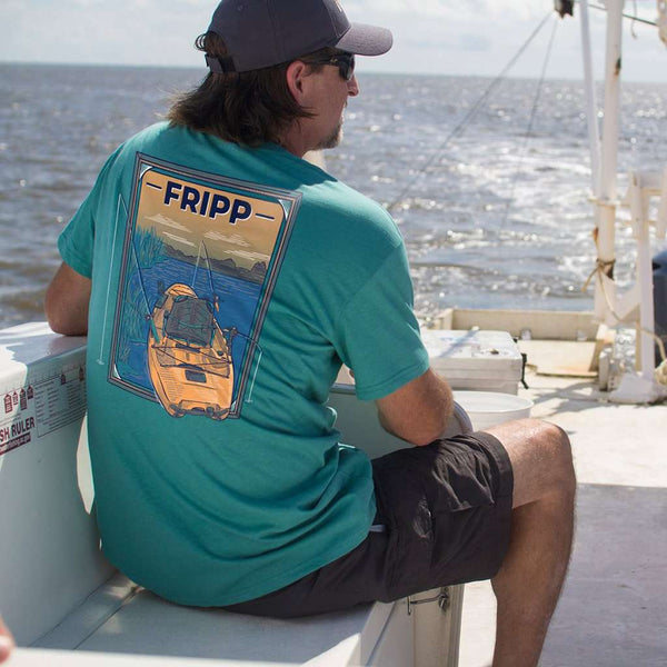 Fripp & Folly Fishing Kayak Tee by Fripp Outdoors