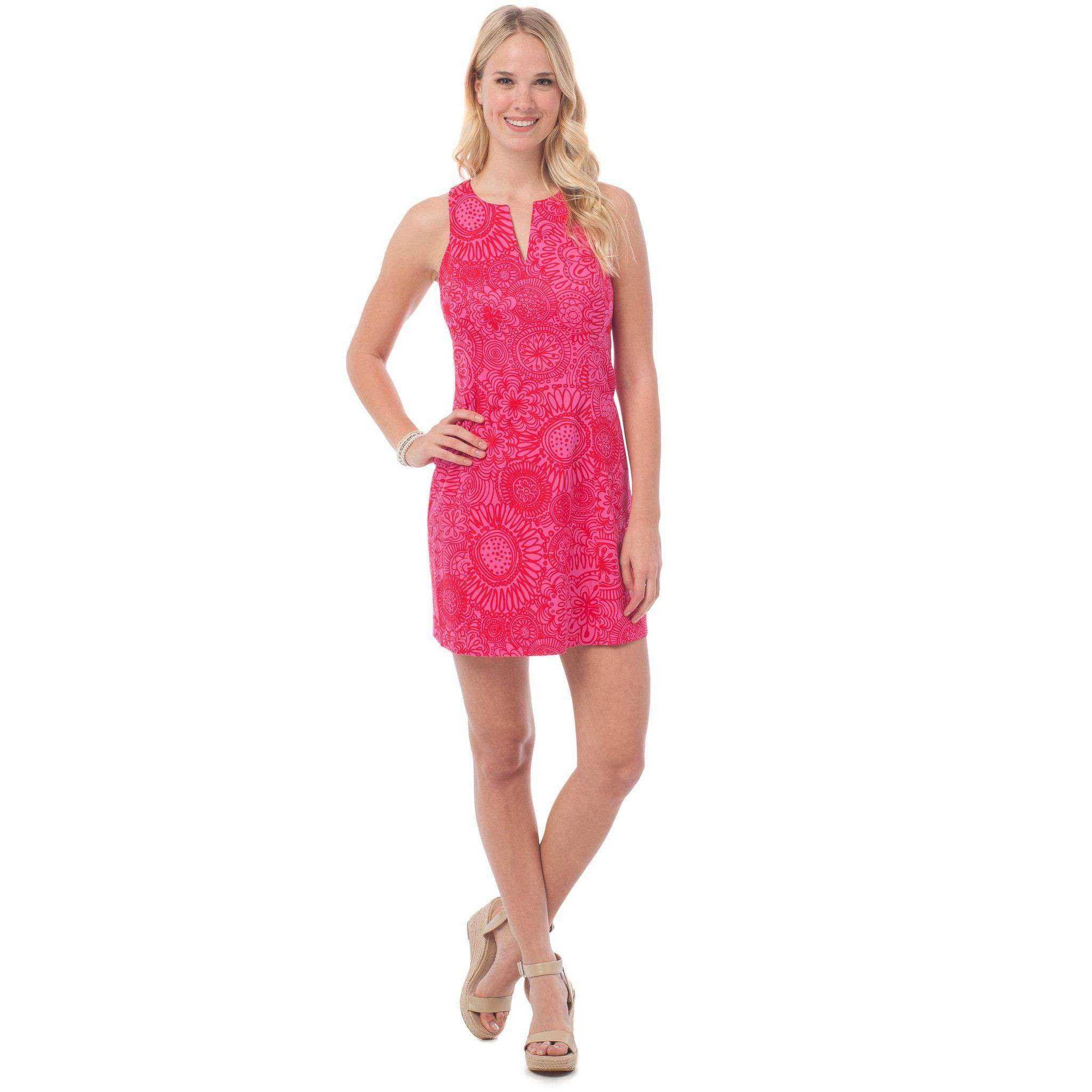 Kennedy Dress in Seapine Floral by Southern Tide