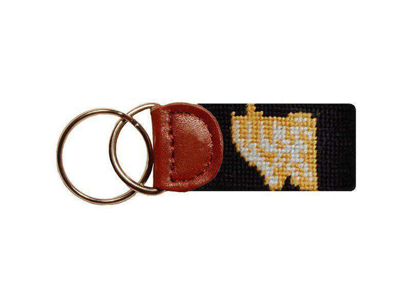 Key Fobs - Appalachian State University Needlepoint Key Fob By Smathers & Branson