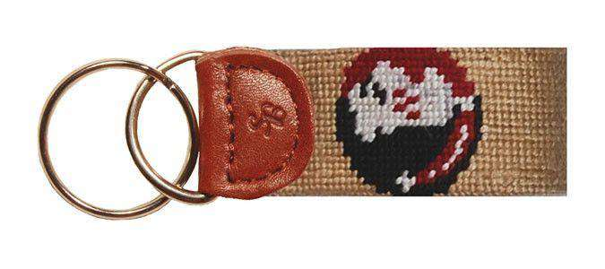 Key Fobs - Florida State University Needlepoint Key Fob In Gold By Smathers & Branson
