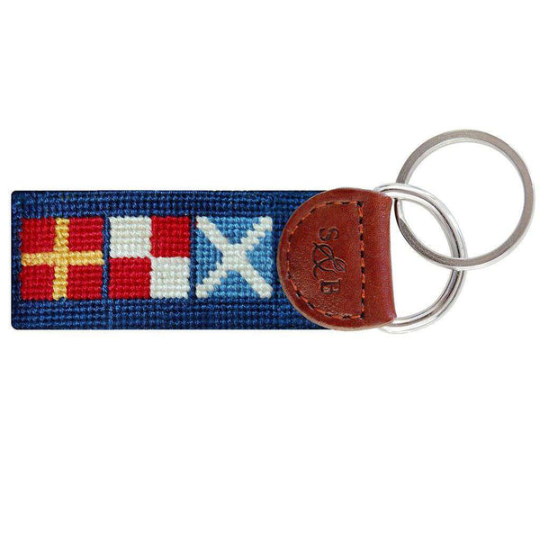 Got Rum Needlepoint Key Fob by Smathers & Branson