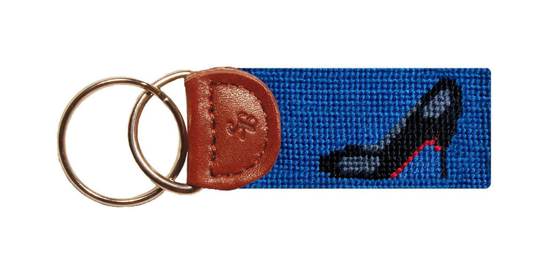Key Fobs - High Heel Needlepoint Key Fob By Smathers & Branson