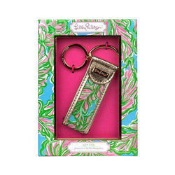 In The Bungalows Key Fob by Lilly Pulitzer - FINAL SALE