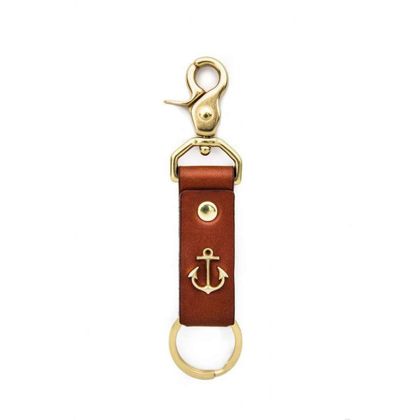 Key Fobs - Keys To Adventure Key Fob In Brass By Kiel James Patrick