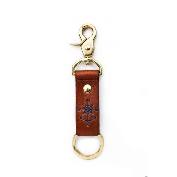Keys to Adventure Key Fob in Navy by Kiel James Patrick