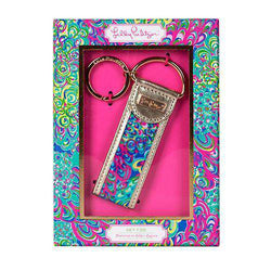 Key Fobs - Lilly's Lagoon Key Fob By Lilly Pulitzer