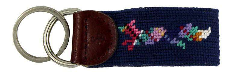 Key Fobs - Longshanks The Friendly Fox Key Fob In Navy By Smathers & Branson