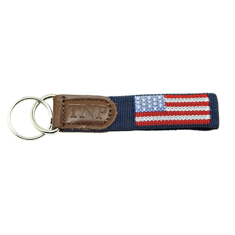 Old Glory  Key Fob in Blue by 39th Parallel