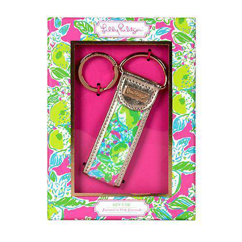 Key Fobs - Pink Lemonade Key Fob By Lilly Pulitzer