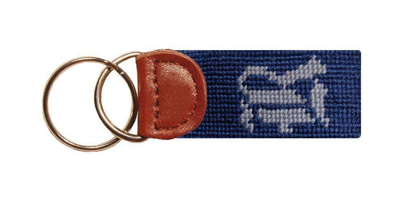 Key Fobs - Rice University Key Fob In Navy By Smathers & Branson
