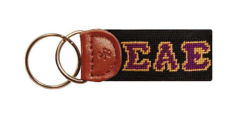 Sigma Alpha Epsilon Needlepoint Key Fob by Smathers & Branson