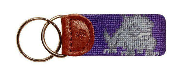 Texas Christian University Needlepoint Key Fob by Smathers & Branson