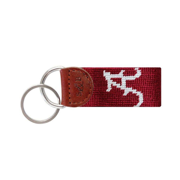 University of Alabama Needlepoint Key Fob by Smathers & Branson