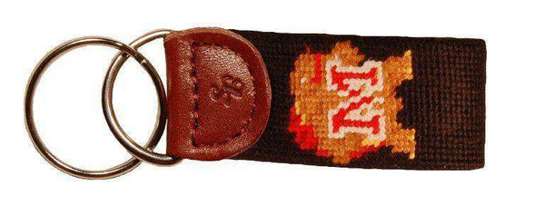 University of Maryland Needlepoint Key Fob by Smathers & Branson