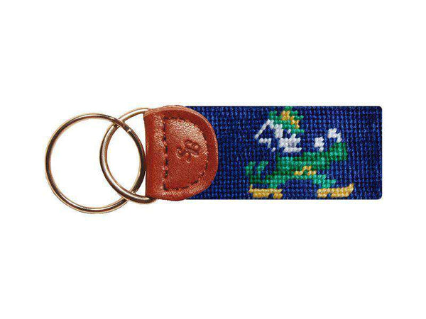 Key Fobs - University Of Notre Dame Key Fob In Navy By Smathers & Branson