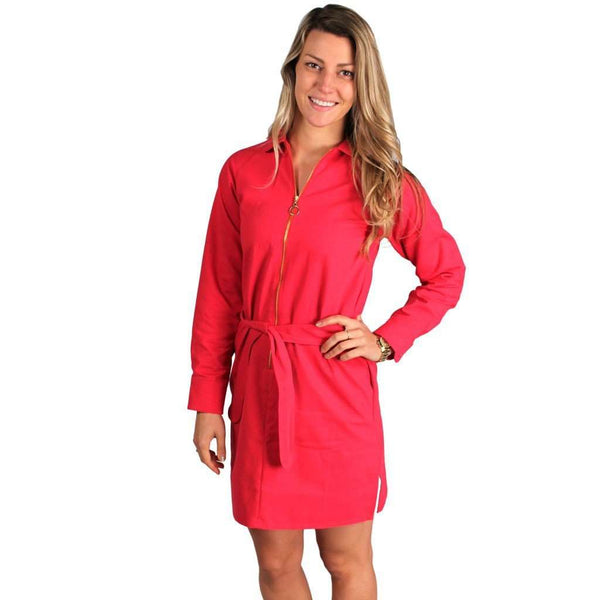 Ruth Dress in Fuschia Slavo by Kayce Hughes - FINAL SALE