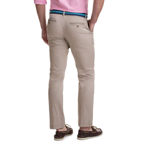 Vineyard Vines Stretch Breaker Pants in Khaki by Vineyard Vines