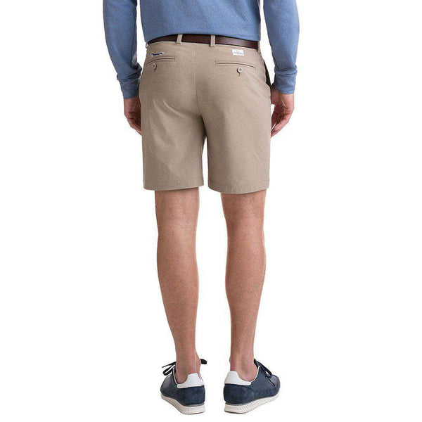8 Inch Performance Breaker Shorts in Khaki by Vineyard Vines
