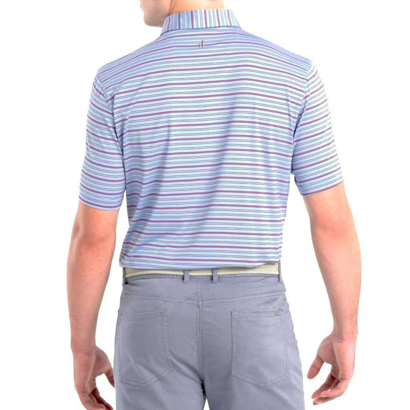 Johnnie-O Kingston Striped Prep-Formance Jersey Polo by Johnnie-O