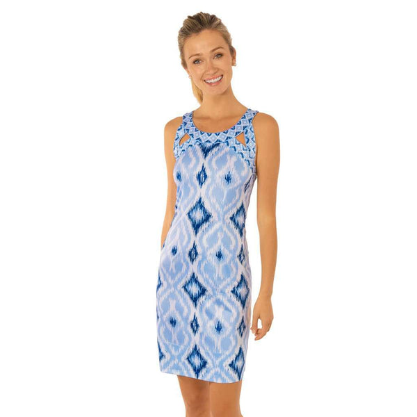 Country Club Prep Kitt Ikat Blues / XS
