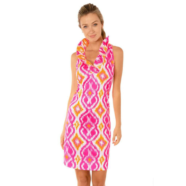 Country Club Prep Kitt Ikat Pink / XS