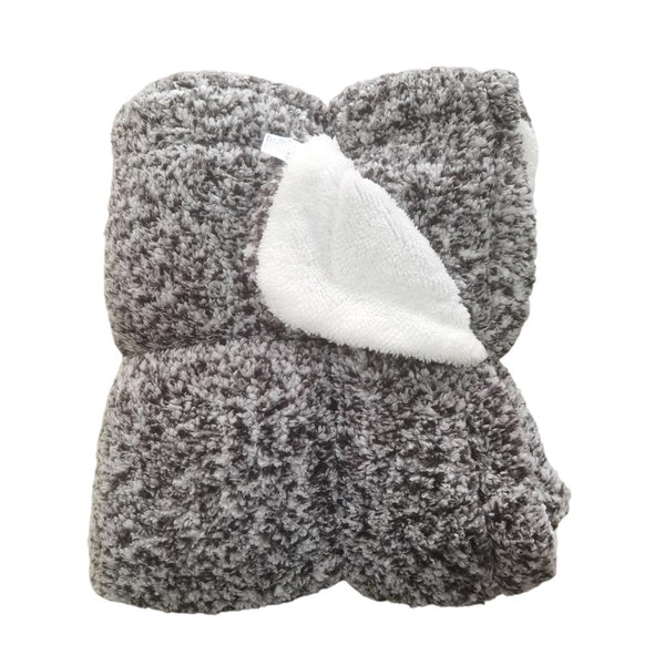 Kristiansand Plush Sherpa Blanket by Nordic Fleece
