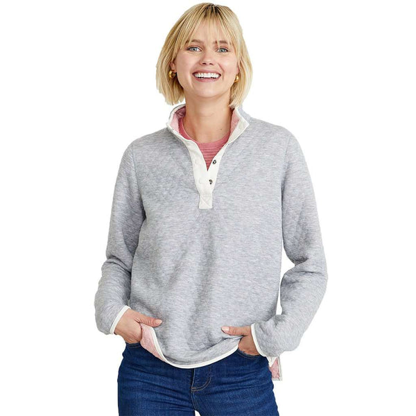 Marine Layer Lady Corbet Reversible Pullover by Marine Layer