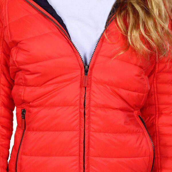 Barbour Landry Baffle Quilted Jacket In Flare And Navy