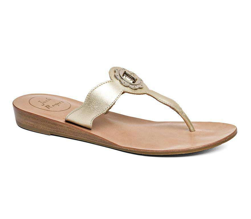 Larissa Sandal in Platinum by Jack Rogers  - 1