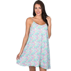Lauren James Lola Swing Dress in Macawl Me