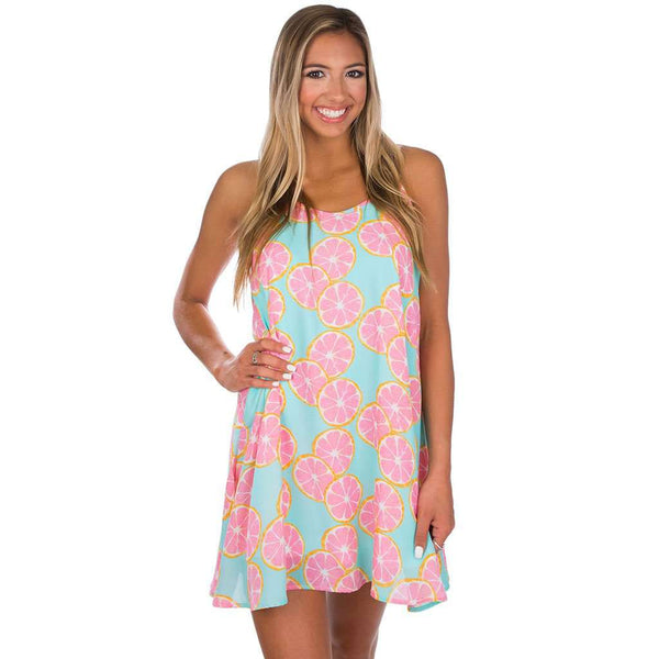 Lola Swing Dress in Main Squeeze by Lauren James