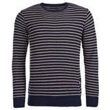 Legion Stripe Crew in Navy by Barbour  - 5