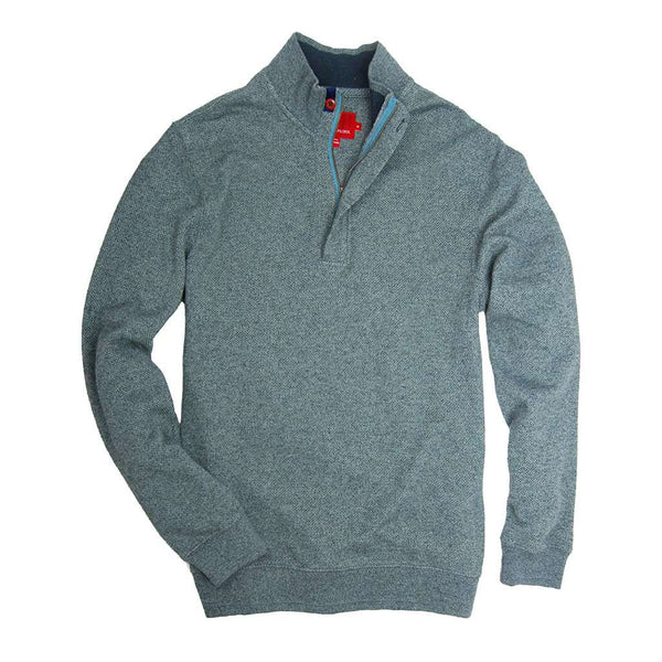Leland Pullover in Silver Blue by Southern Proper