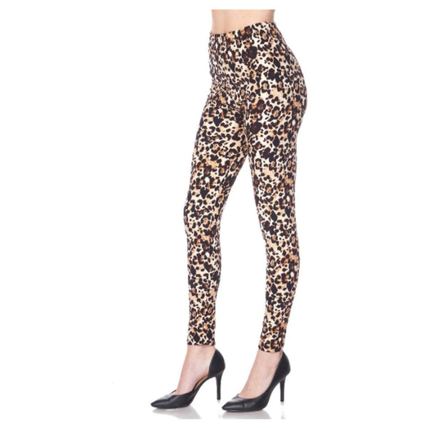 Lazy Leopard Leggings by Queens Designs